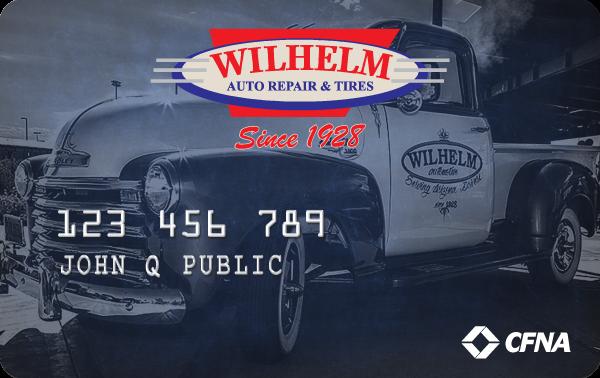 Wilhelm Automotive VIP Card